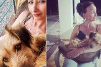 Daniela Šinkorová na dovolené: Láska na první pohled! Odvezla si ji domů