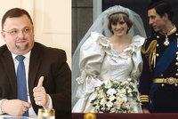 40 let od svatby Charlese a Diany! Tajemství pohádky s trpkým koncem prozradil Forejt