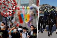 Olympijské Japonsko má přes 10 000 nakažených za den. A lockdown v Sydney ohlídá armáda