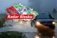 Předpověď na srpen: Žádná vedra, spíš déšť. A bouřky řádily na Moravě, sledujte radar Blesku