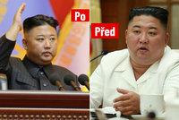 Kimovo hubnutí pokračuje: Diktátor na nových snímcích vypadá štíhleji než kdy předtím