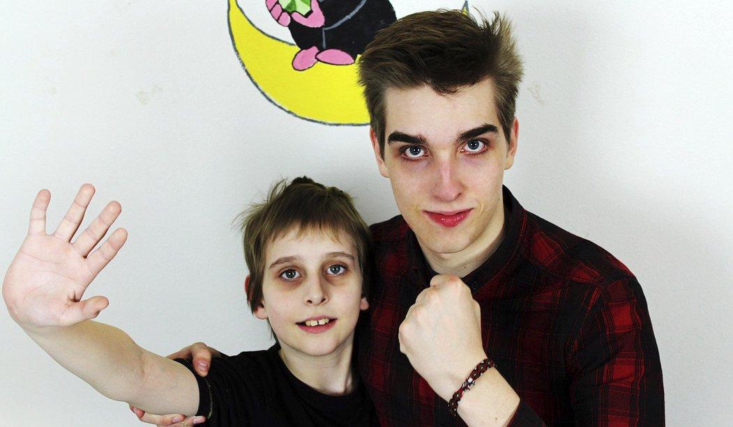 Misha s bráchou Metadonem