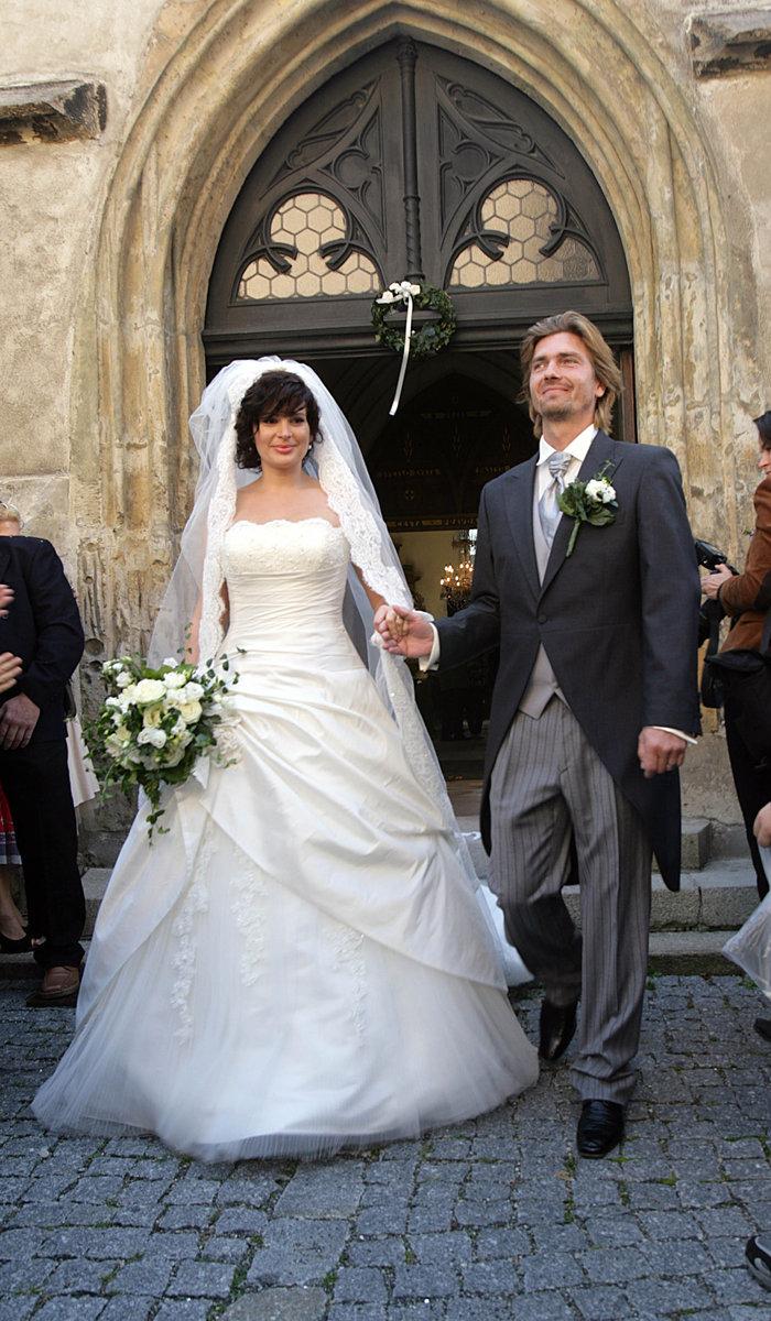 Novomanželé si řekli »ano« minulou sobotu na zámku v Mělníku.