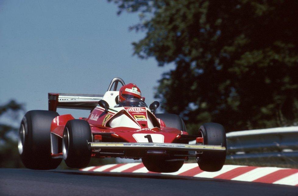 80. léta - Niki Lauda