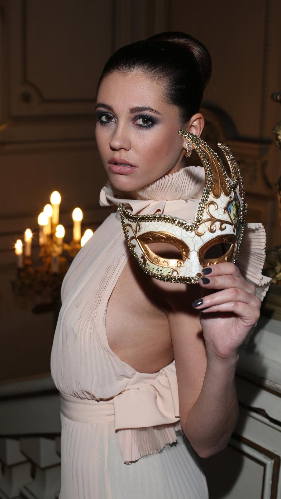 Hana Svobodová se zúčastní slavnostního karnevalu Masquerade