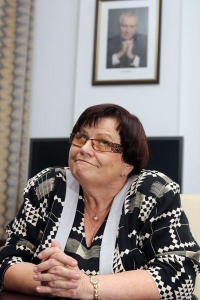 Marie Benešová zaplatila svůj bezmezný obdiv k prezidentovi postem ve straně.