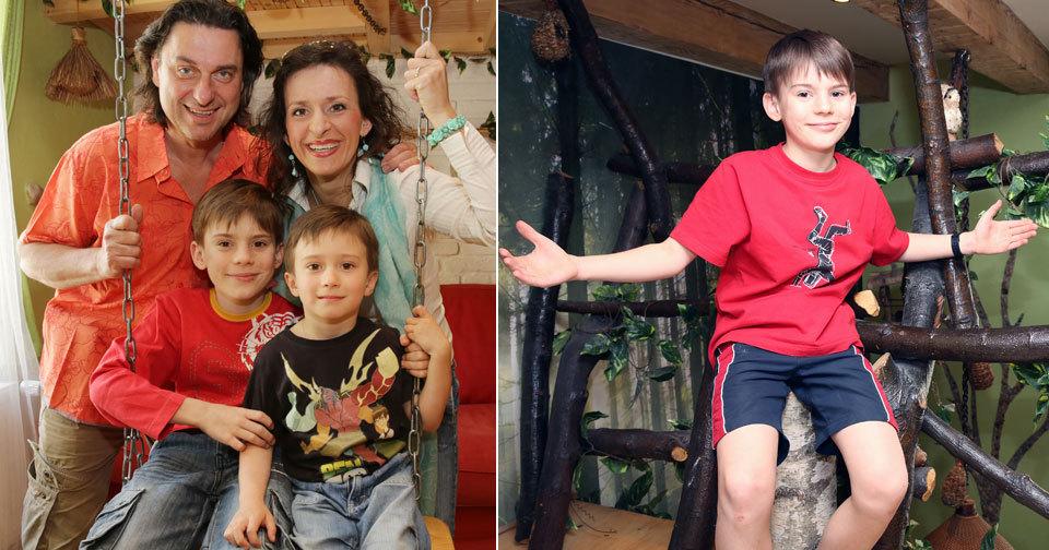 Filip je už v deseti letech hereckou hvězdou.
