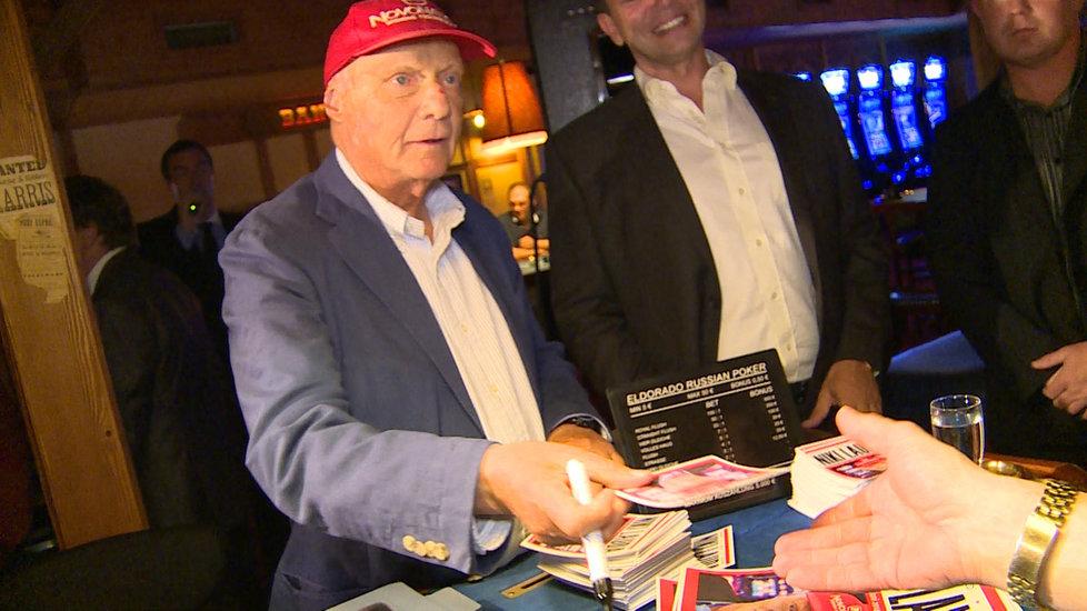 V kasínu proběhla i autogramiáda