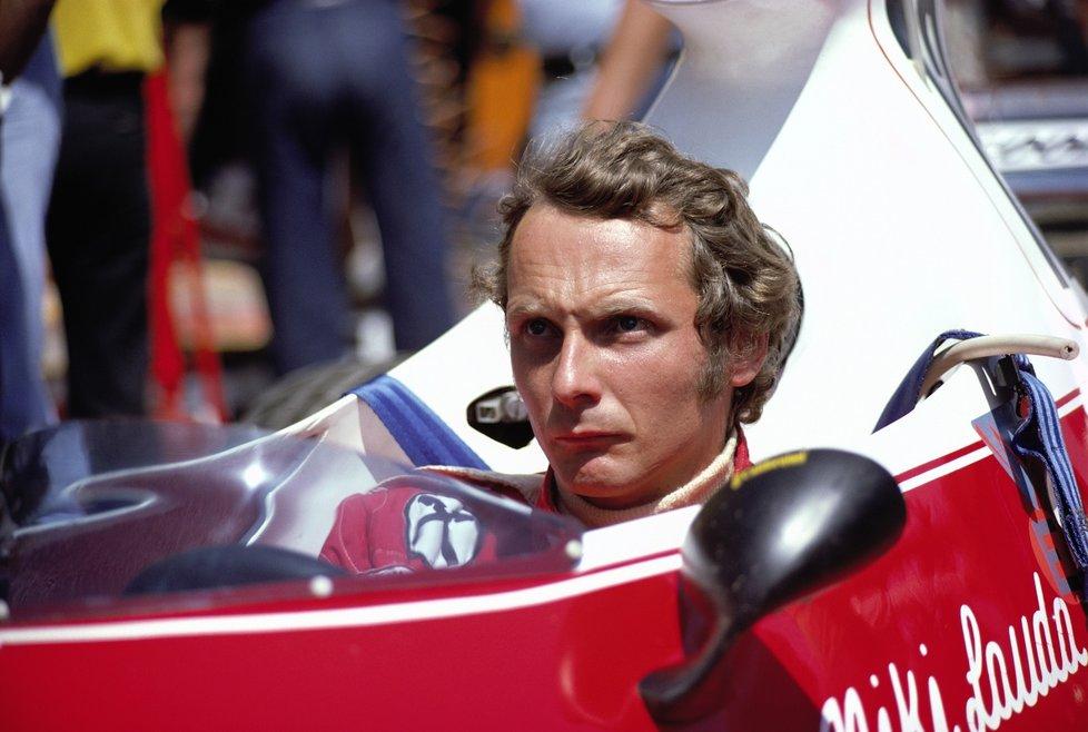Lauda se stal třikrát mistrem světa F1.