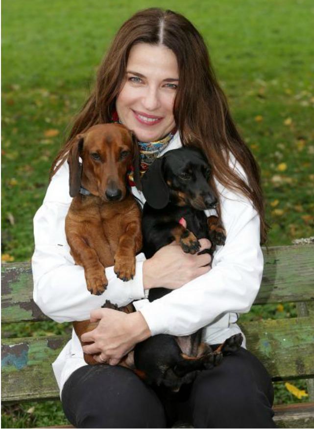 Michaela Jílková si pořídila psy, jelikož si to spolu s dcerou obě přály.