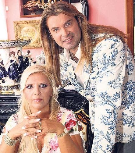 Nora Mojsejová s exmanželem Branislavem.