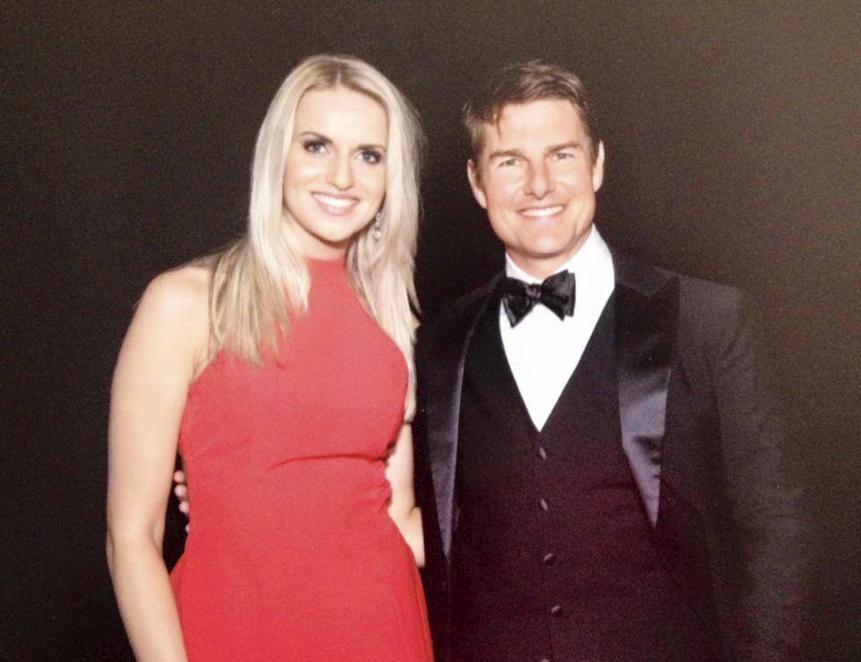 Gábina Gunčíková a Tom Cruise