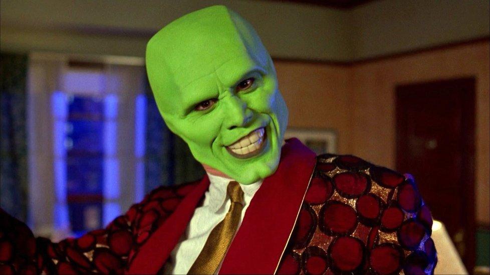 1994 - Jim Carrey předvedl v komedii Maska geniální výkon.