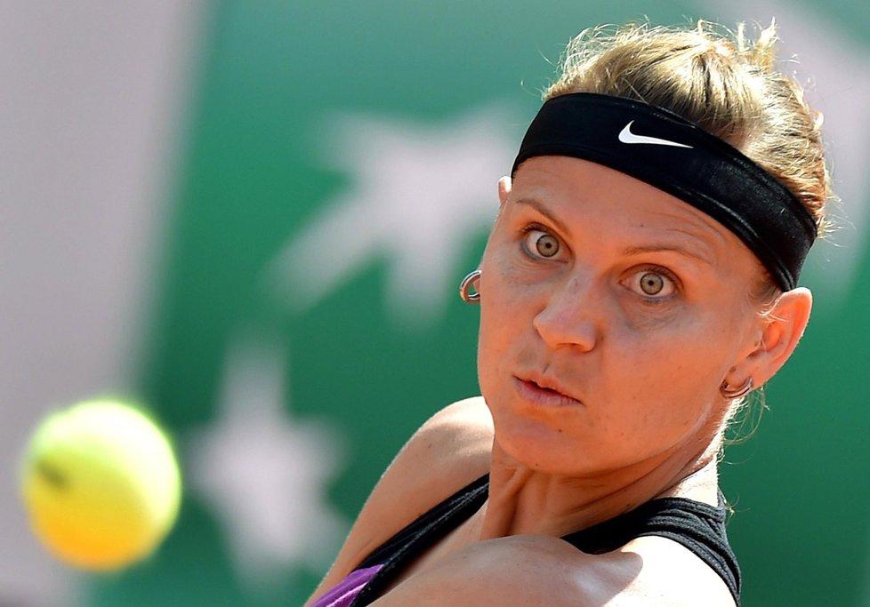 Česká tenistka Lucie Šafářová na turnaji v Římě