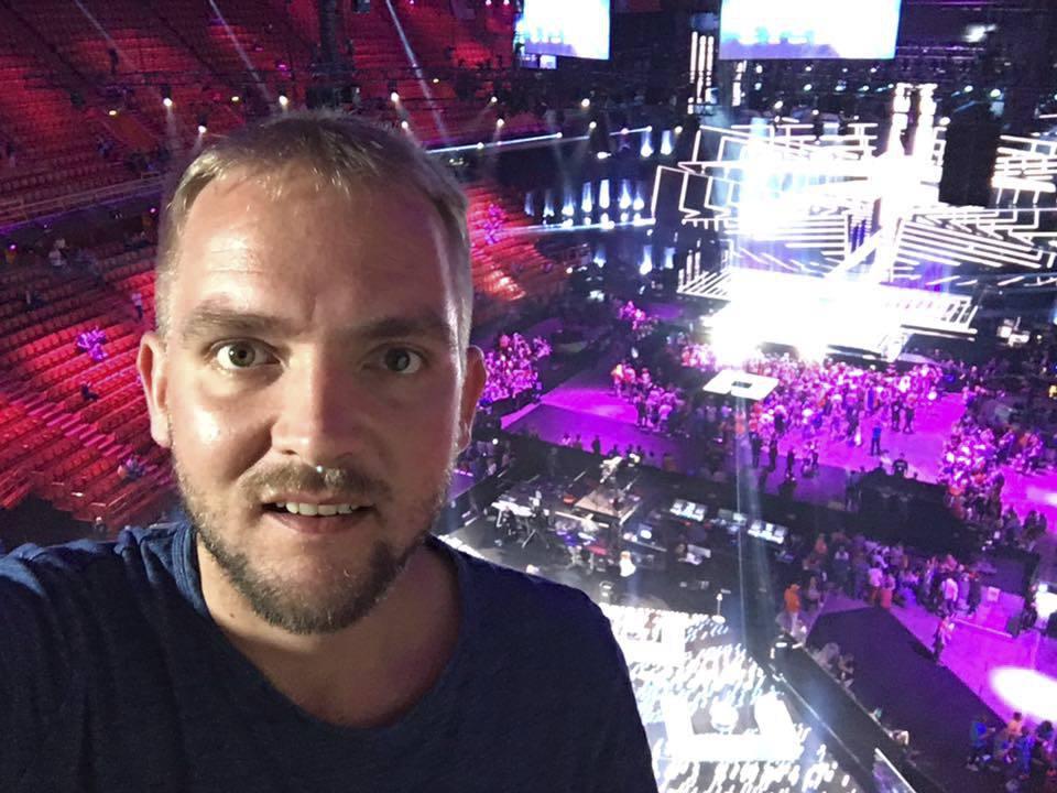 Bouček na pěvecké soutěži Eurovision Song Contest.