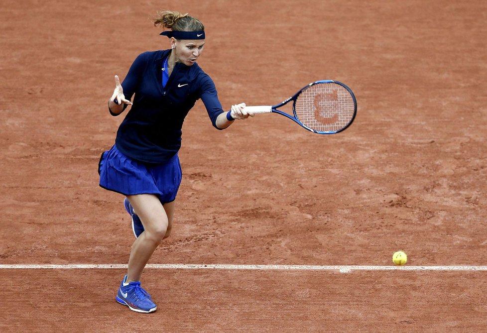Lucie Šafářová vstoupila do French Open ve velkém stylu
