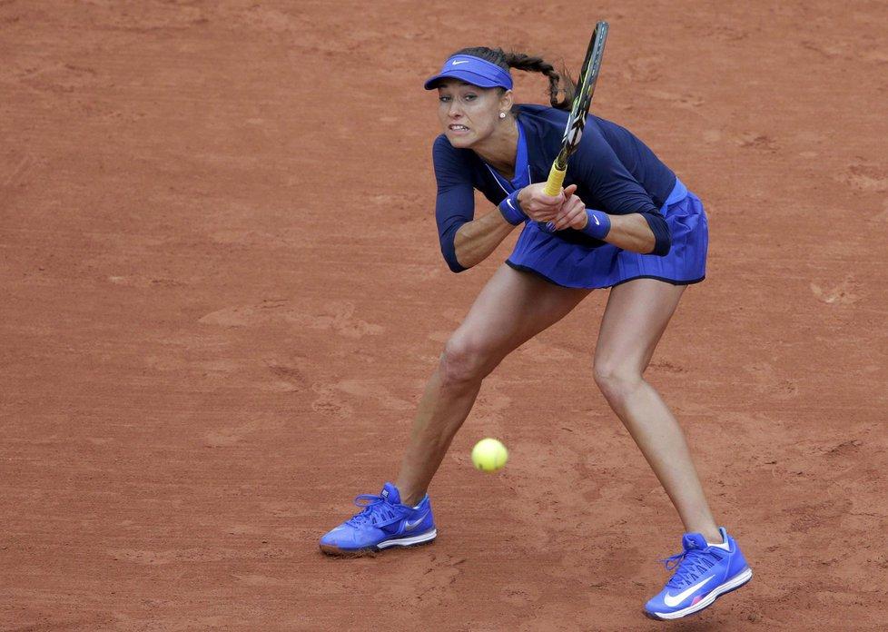 Ruská tenistka marně hledala na Šafářovou zbraň