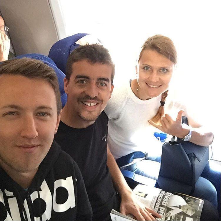 Jakub vyrazil s Lucií Šafářovou i na French Open.