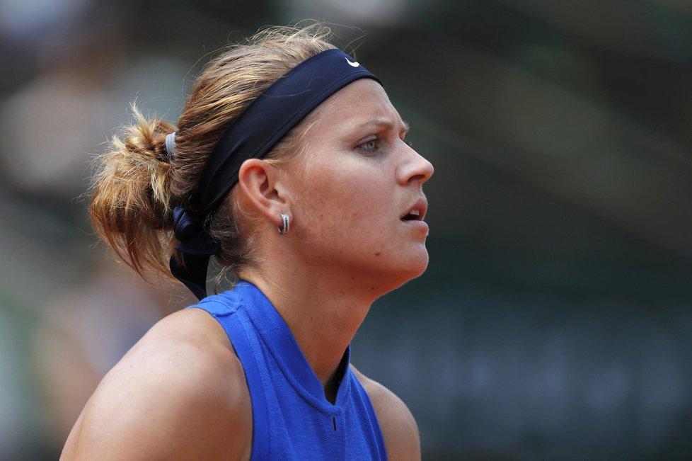 Zklamaná Lucie Šafářová po vyřazení z French Open