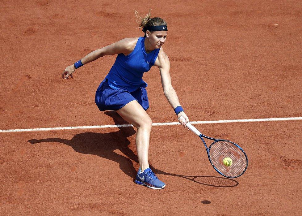 Lucie Šafářová ve 3. kole French Open proti Samanthě Stosurové