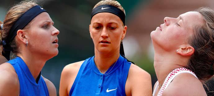 Černý český den na French Open - ve 3. kole vypadly Lucie Šafářová, Petra Kvitová i Barbora Strýcová