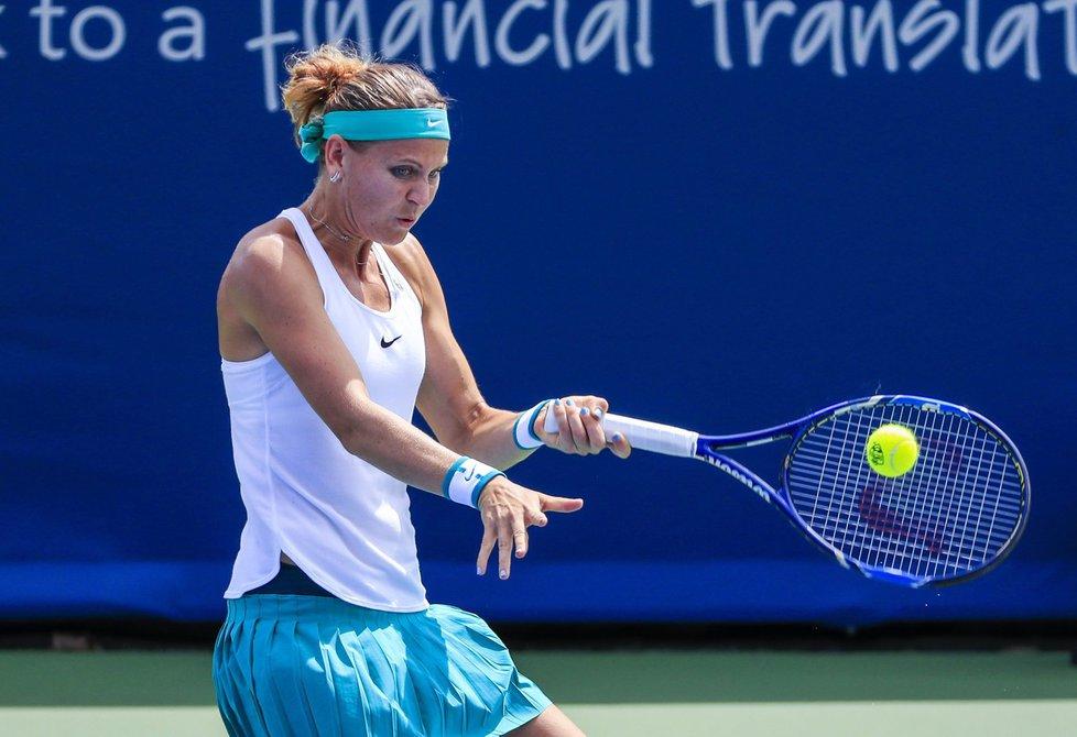 """Návrat na okruh WTA po """"bronzových"""" olympijských hrách se Lucii Šafářové nepovedl."""