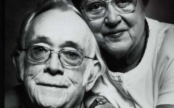 Josef Škvorecký se svou ženou Zdenou Salivarovou