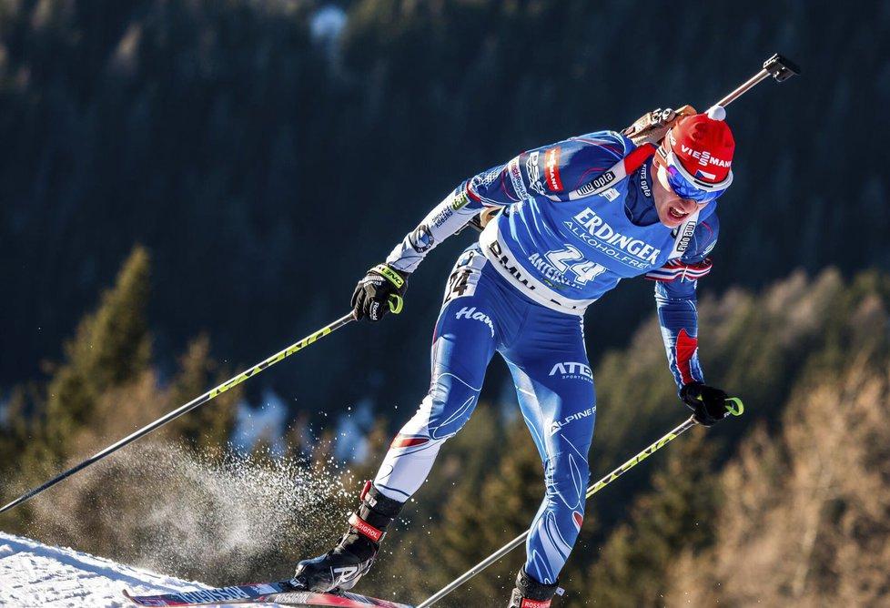 Michal Krčmář předvedl na trati výborný výkon