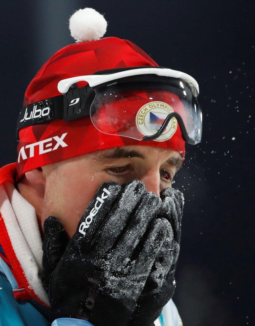 Michal Krčmář právě zjišťuje, že může získat stříbrnou medaili z olympiády