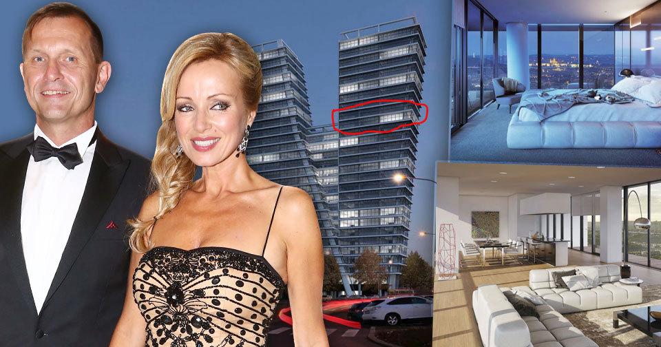 Miliardář Jaromír Soukup si udělal radost a koupil celá dvě patra v nejdražším mrakodrapu.