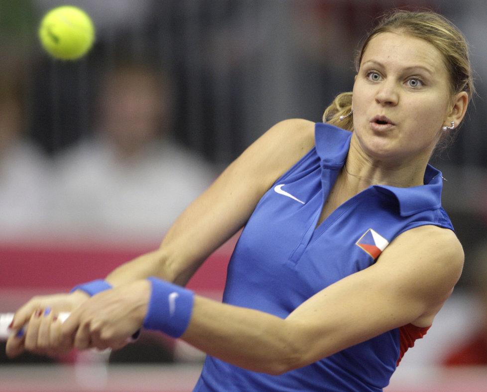 Lucii Šafářovou (na snímku) v neděli nahradí jmenovkyně Hradecká.