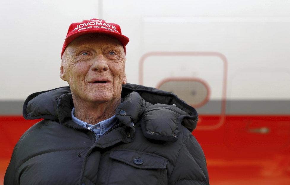 Legenda formule 1 Niki Lauda