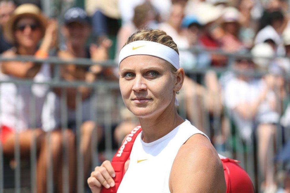 Lucie Šafářová na Wimbledonu 2018