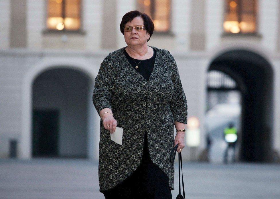 Nastupující ministryně spravedlnosti Marie Benešová
