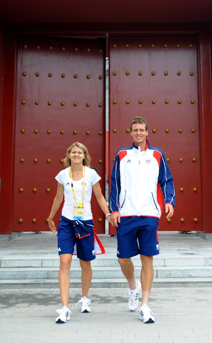 V Pekingu při olympiádě.