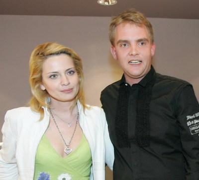 Libor Bouček se svojí exmanželkou