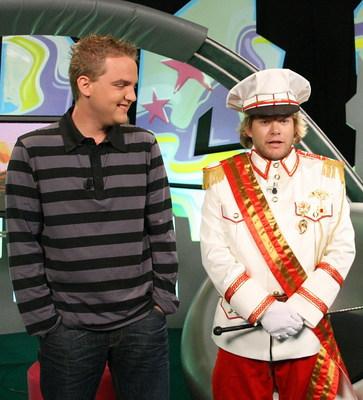 Koncertní uniforma Matěje Rupperta zaujala Libora Boučka natolik, že by podobnou taky chtěl.