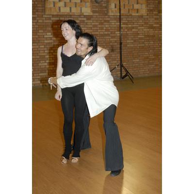 Herečka Tatiana Vilhelmová nyní denně trénuje se svým tanečním partnerem Petrem Čadkem a občas to mezi nimi pěkně jiskří.