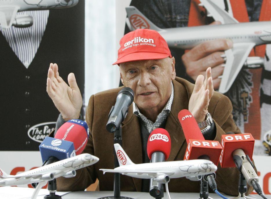 Niki Lauda je i ve svých 60 letech čiperka...