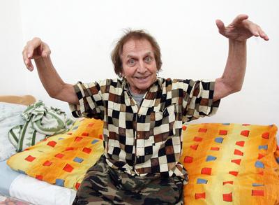 Jaroslav Čejka už pookřál a v léčebně redaktory bavil.