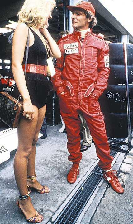 Bývalý pilot formule 1 Niki Lauda v dobách své největší slávy lámal srdce ženám jako na běžícím pásu