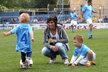 Kateřina Rachůnková s dětmi Matýskem a Kačenkou.