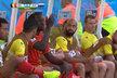 Romelu Lukaku z lavičky náhradníků pokřikoval na trenéra Marka Wilmotse. Brzké střídání zkrátka neskousl.