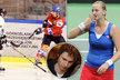 Petra Kvitová se pochlubila novým přítelem, je jím Radek Meidl, který hraje hokej za polskou Bytom