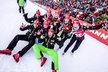 České biatlonistky slaví další parádní výsledek