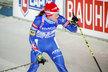 Veronika Vítková v cíli štafetového závodu žen na mistrovství světa