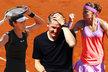 Šafářová slavila postup do finále, Ivanovičová s přítelem Schweinsteigem zůstali smutní