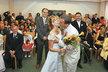 Svatba Kateřiny Konečné (KSČM) v roce 2008 v Novém Jičíně