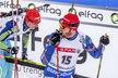 Naštvaný Michal Šlesingr v cíli stíhačky na mistrovství světa