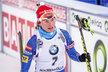 Veronika Vítková byla nakonec ve stíhačce nejlepší z Češek na osmém místě